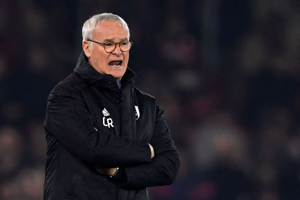 Watford's new manager Claudio Ranieri said he does not expect an easy ride at the Premier League club. ― Reuters pic