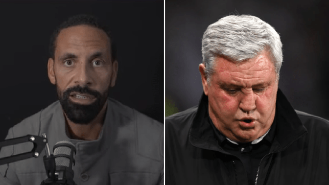 Rio Ferdinand names the manager Newcastle should appoint to replace Steve Bruce