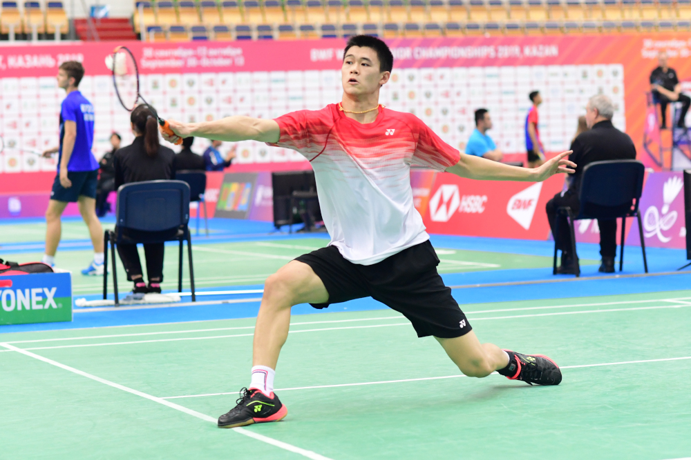 Brian Yang, ranked 39 in the world, has shown great progress after a two-month training stint at the Peter Gade Academy in Denmark, followed by a shorter stint with Tokyo Olympics champion Viktor Axelsen in Dubai. — Picture from bwfbadminton.com