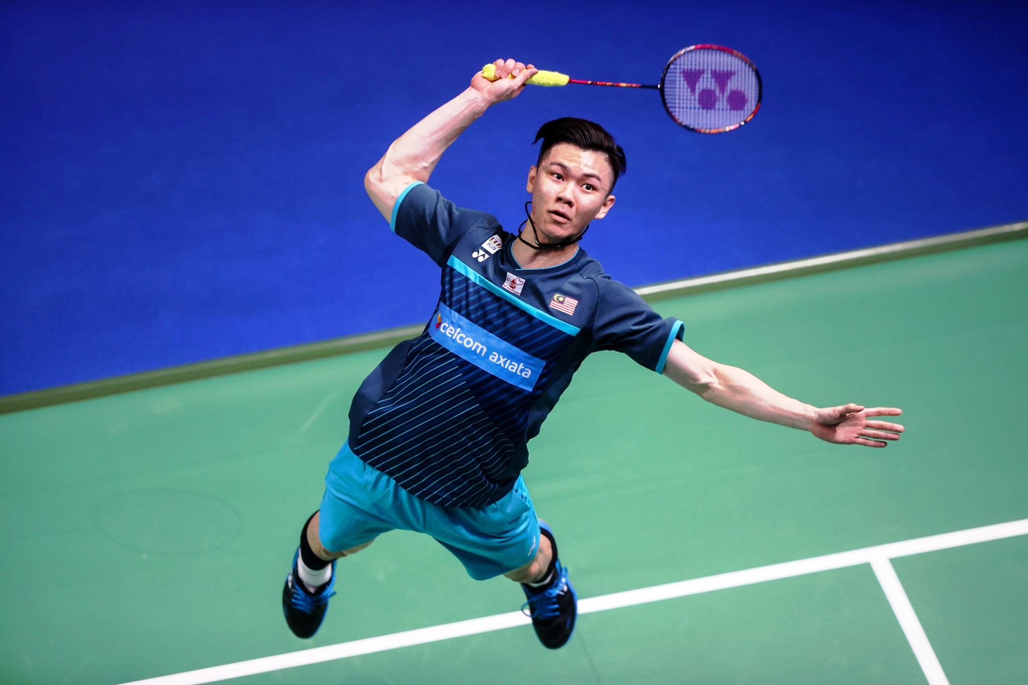 Zii Jia got the ball rolling by handing Malaysia the first point with a confidence-boosting win over Canada's world number 39 Brian Yang in the first singles. — Picture via BWF