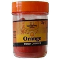 Food Colour Orange 25G Supreme