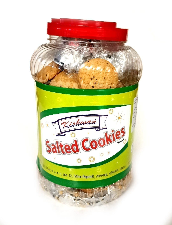 Salted Cookies Jar 800G Kishwan