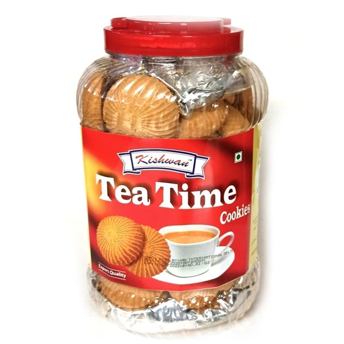 Tea Time Cookies Jar 800G Kishwan