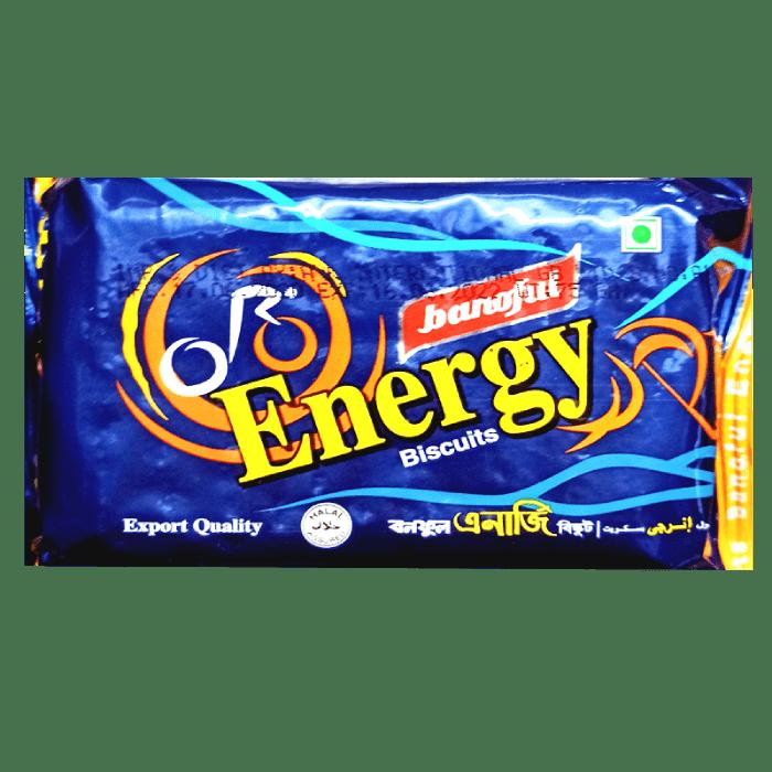 Energy Biscuit 75g Banoful