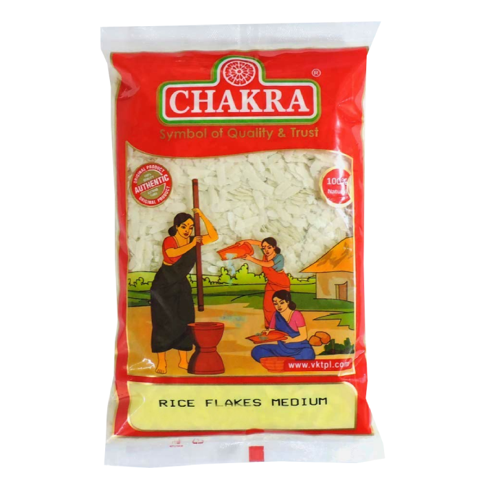 Flattened Rice Cheera Medium 1kg Chakra