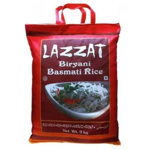 Basmati Biryani Rice 9Kg Lazzat