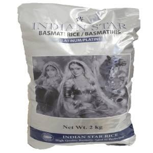 Basmati Rice 2Kg Indian Star