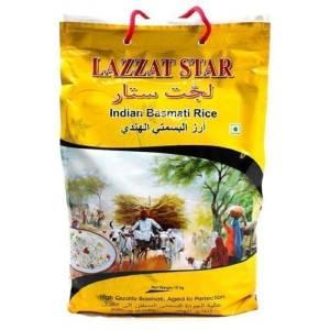 Basmati Rice 5Kg Lazzat Star