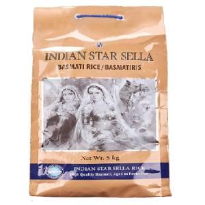 Basmati Rice Sella 5Kg Indian Star