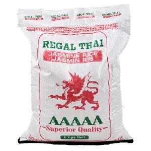 Jasmine Rice 5Kg Regal Thai