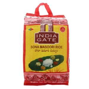Sona Masoori Rice 5kg India Gate
