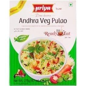 Andhra Veg Pulao 275g Priya