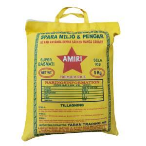 Super Basmati Sella Rice 5kg Amiri