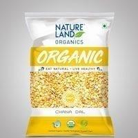 Chana Dal Organic 1kg Nature land