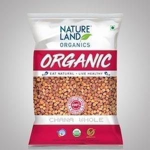Kala Chana Organic 1kg Nature Land