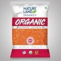 Masur Dal Organic 1kg Nature Land