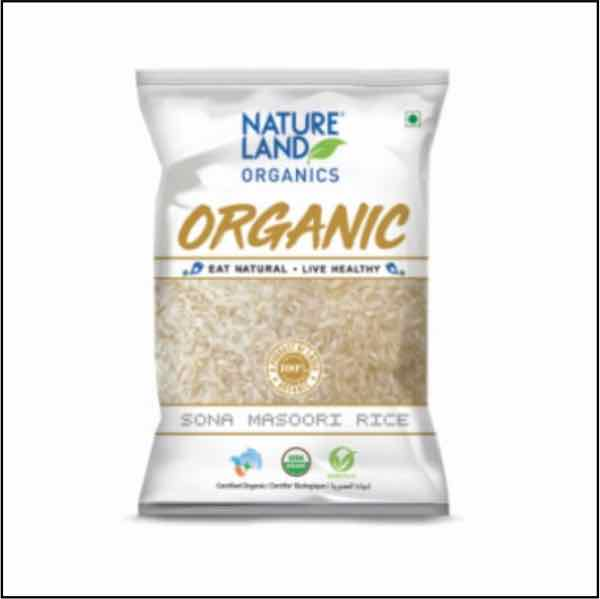 Sona Masoori 5 kg Organic Nature Land