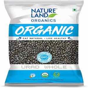 Urad Whole Organic 1kg Nature Land