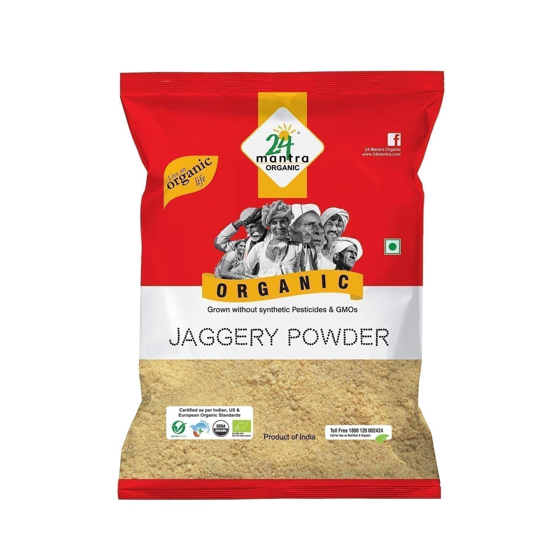 Jaggery Powder 500g 24 Mantra Organic jpg