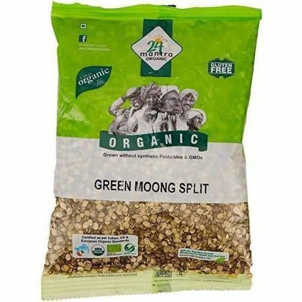 Green Moong Split 1kg 24MantraOrganic