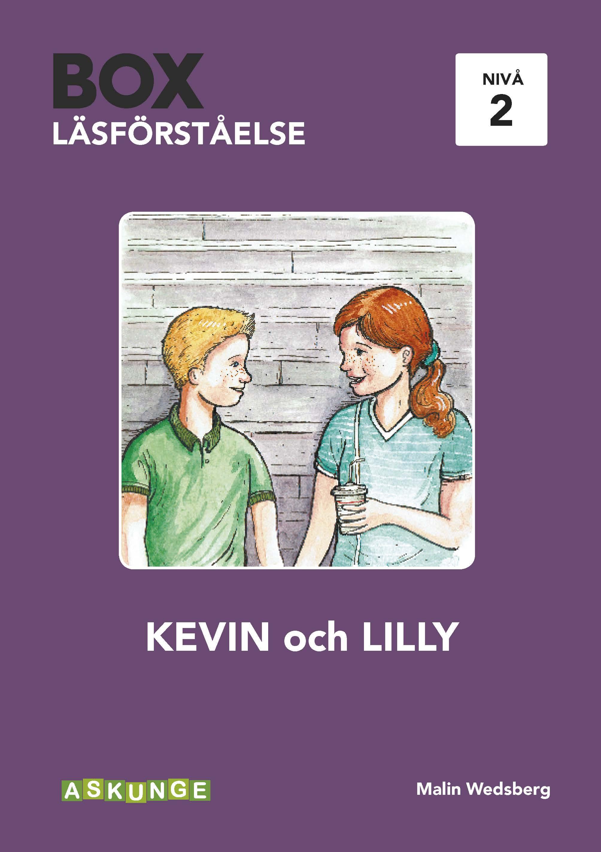 BOX Läsförståelse 2 Kevin NY