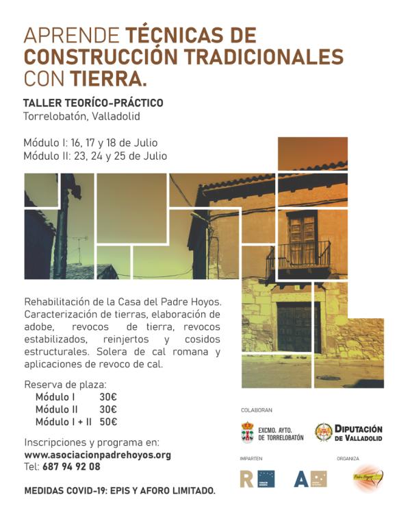TALLER DE TÉCNICAS DE CONSTRUCCIÓN TRADICIONALES CON TIERRA