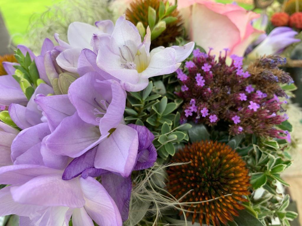 bloemstuk closeup