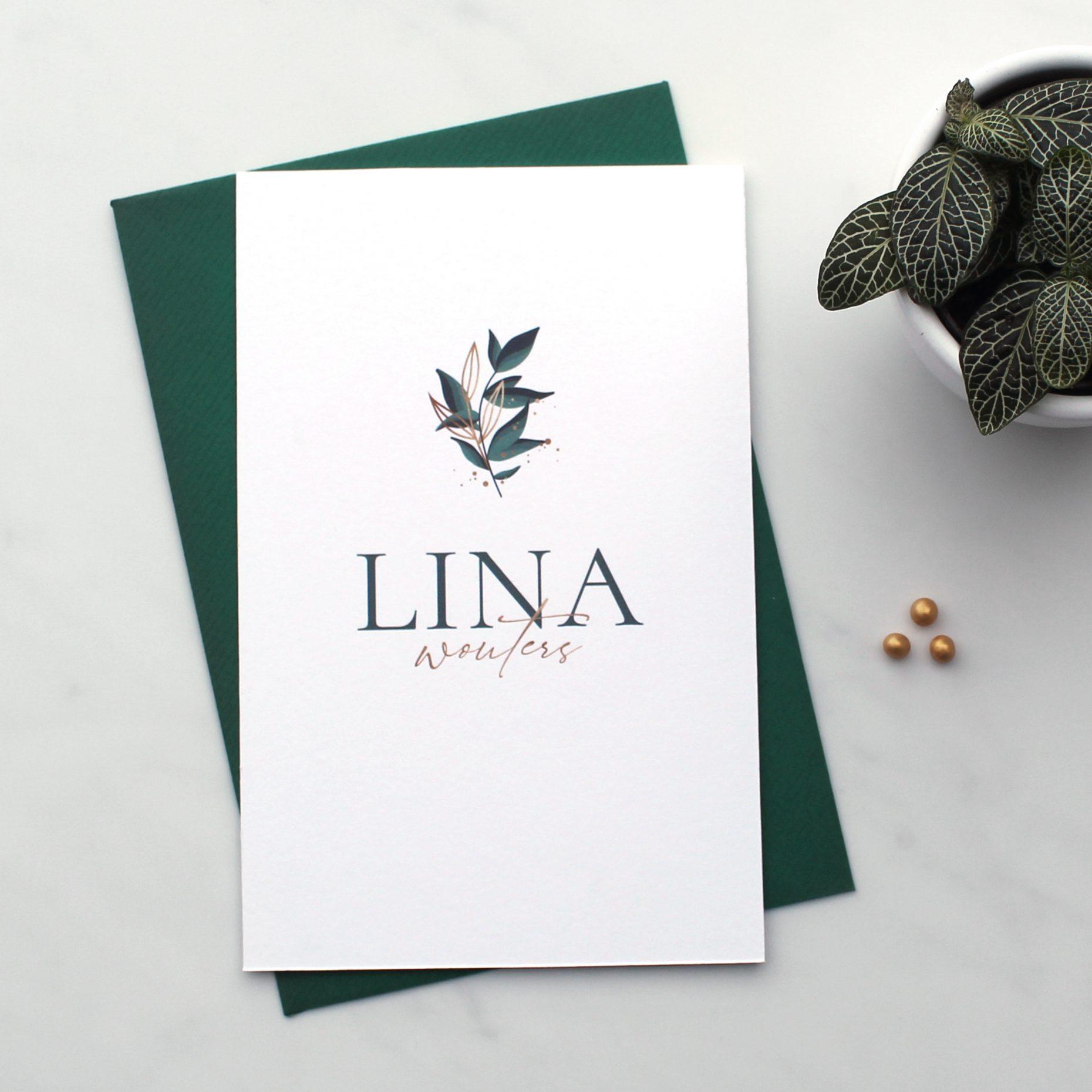 Geboortekaartje Lina