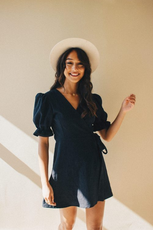 Felicia dress 100% linen