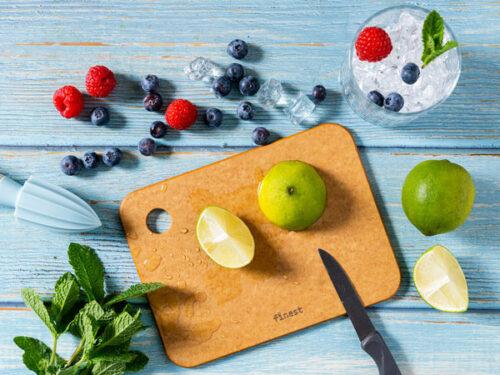 Snijplank en serveerplank voor fruit
