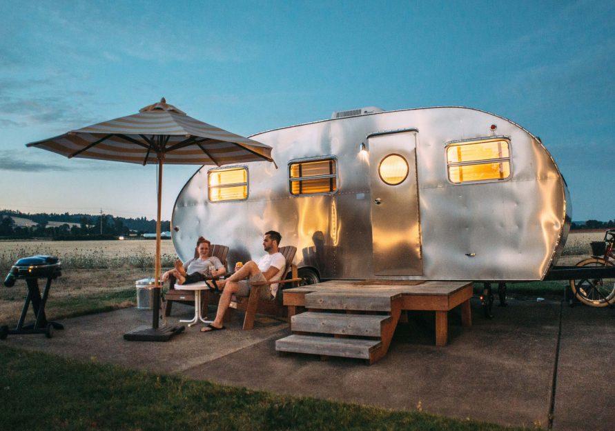 Campingvognplass