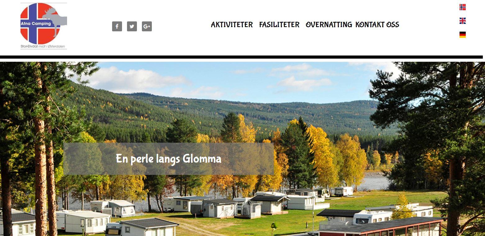 Vår hjemmeside