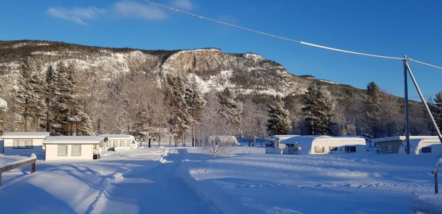 Vinteråpen Camping