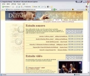 Site web Augustin Dumay