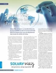 C'est à Dire Solvay n°85 08