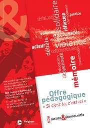 Affiche RCN Justice & Démocratie