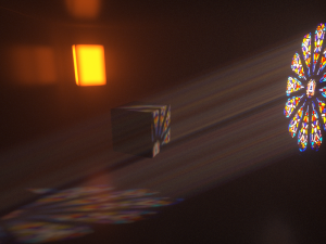 Octane render : optimisation du rendu. La brume fonctionne également avec le noyau DirectLighting.