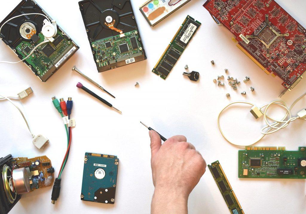 hardware, electronics, repair