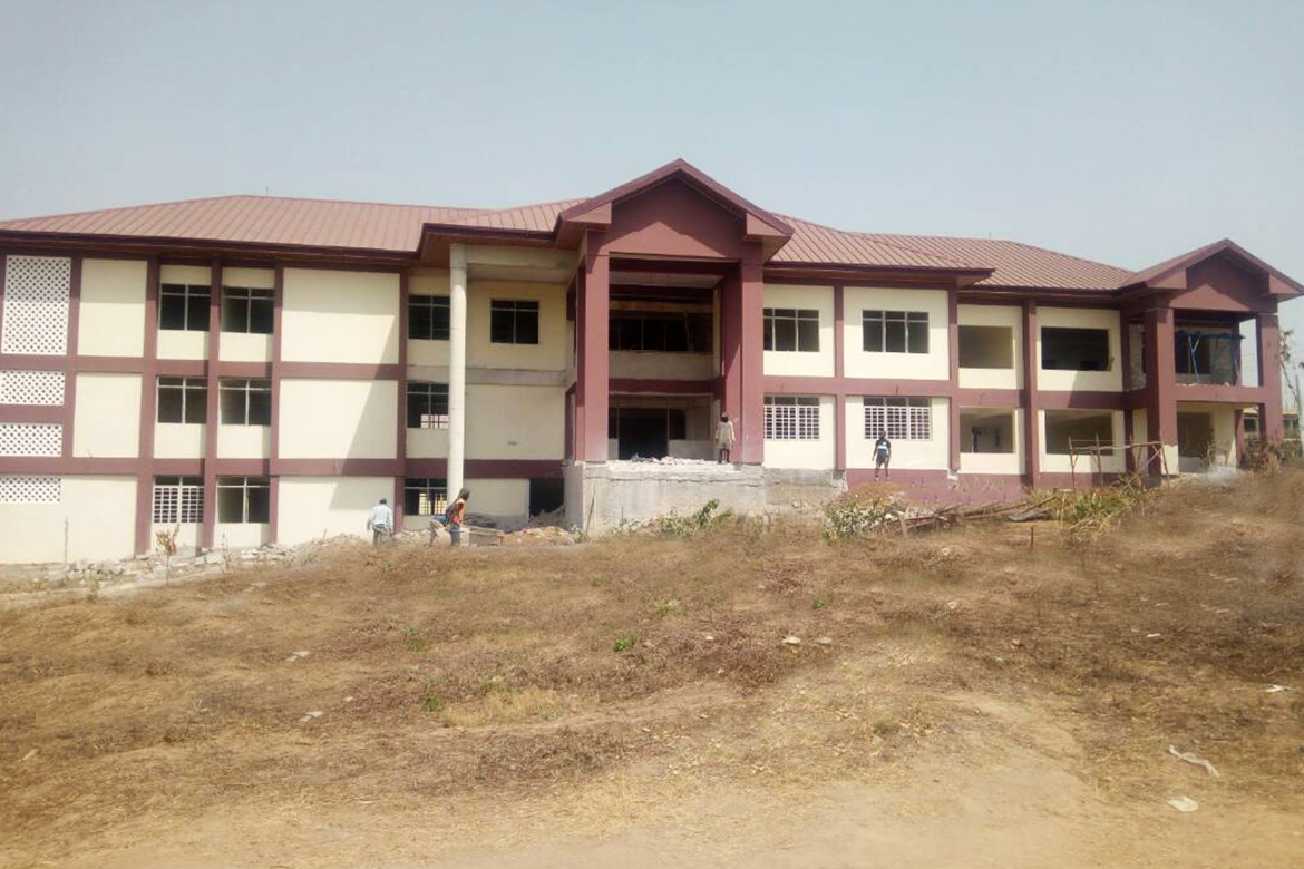 1170 by 780 CONSTRUCTION OF INSTITUTIONAL FACILITY FOR KUMASI COLLEGE OF TECHNOLOGY, ASHANTI REGION & KROBEA ASANTE TECHNICAL INSTITUTE, ASHANTI REGION.