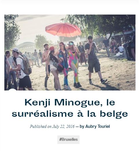 Kenji Minogue, le surréalisme à la Belge