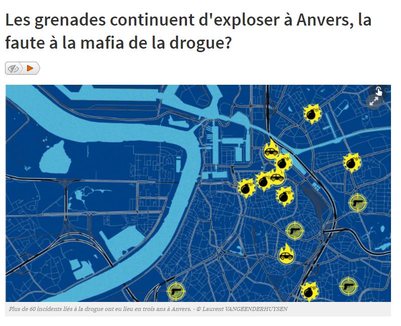 Les grenades continuent d exploser à Anvers la faute à la mafia de la drogue