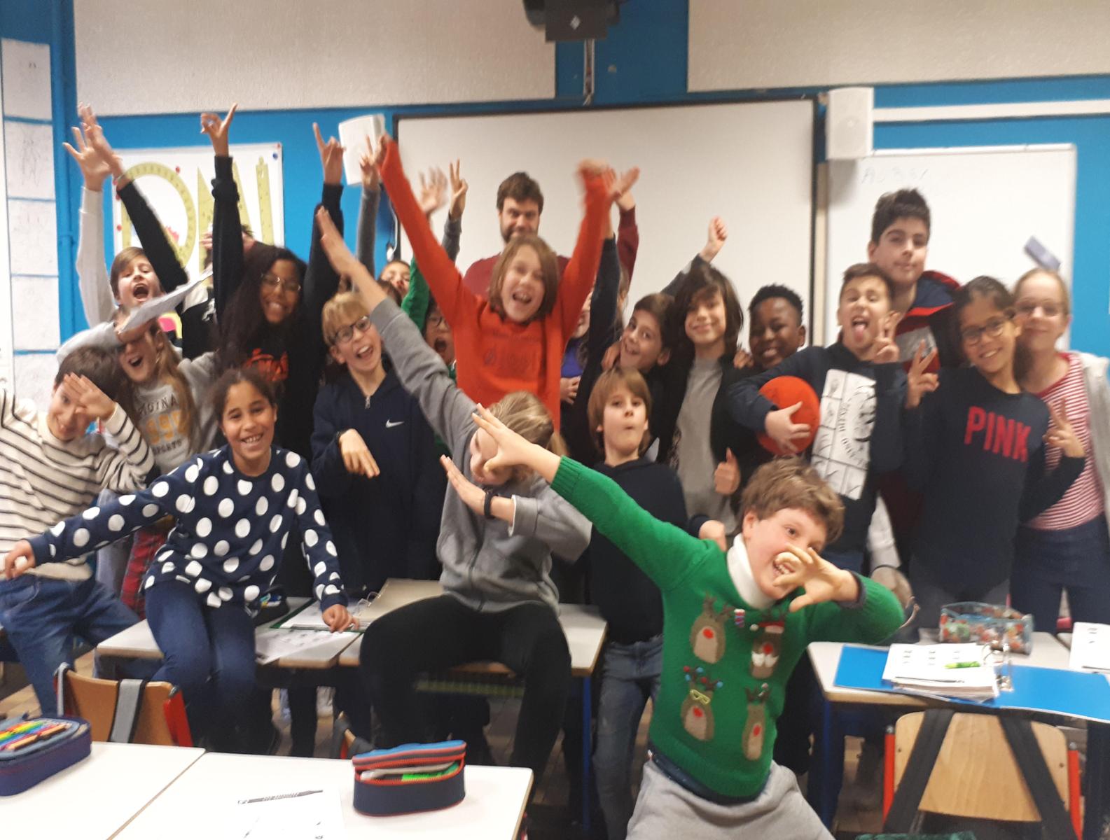 Visite au 5-6e primaire du groupe scolaire Tenbosch