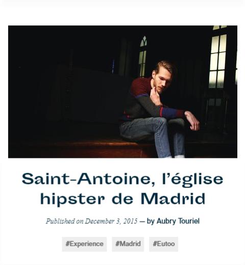 Saint-Antoine, l'église hipster de Madrid