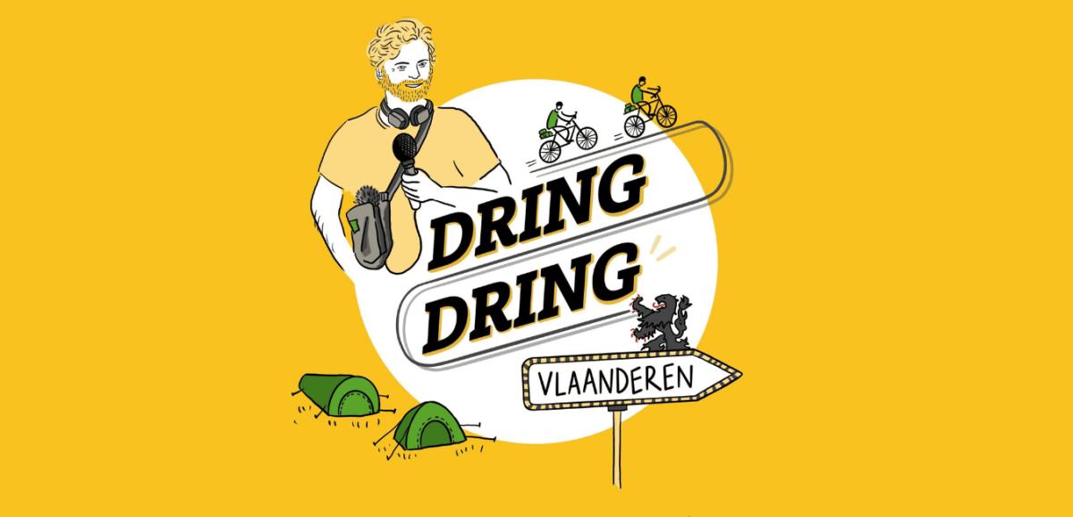 Dring dring podcast DaarDaar Flandre