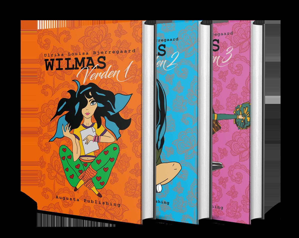 Wilmas Verden 1 bogcover
