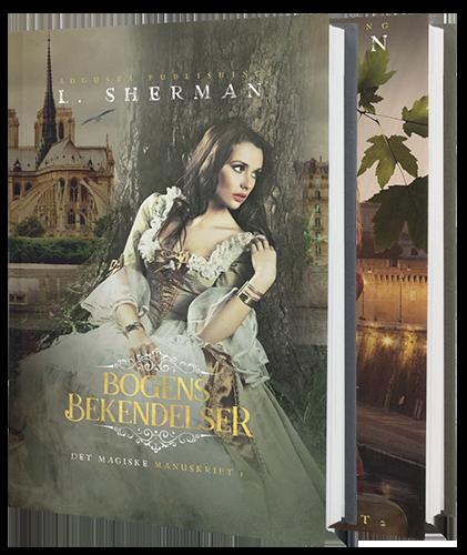 Det Magiske Manuskript: Bogens bekendelser og Bogens Triumf af L. Sherman