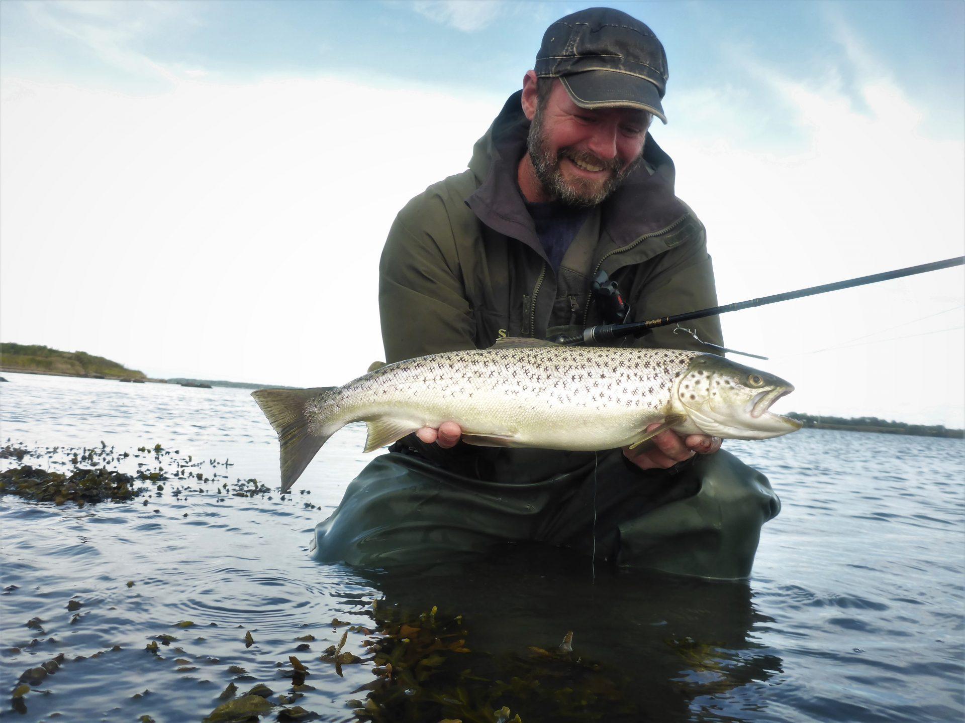 Efterårets havørredfiskeri i Augustenborg Fjord