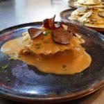 Raviole & copeaux de truffes