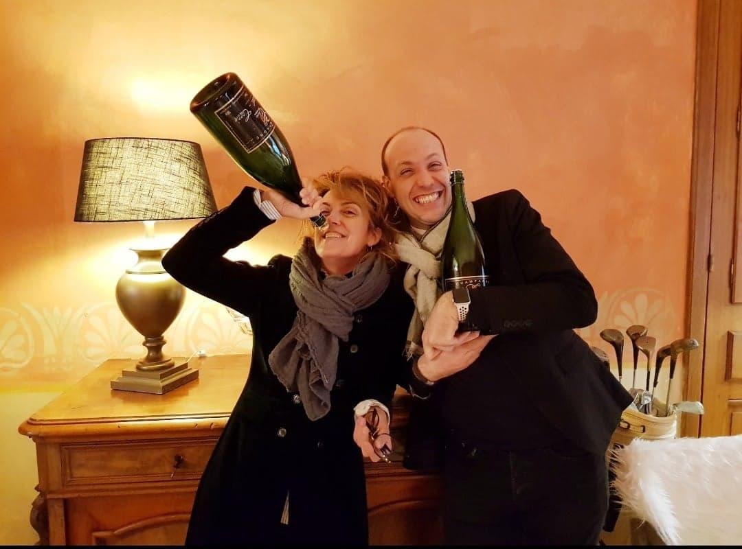 Carole & Greg