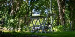 gezellige hotel tuin